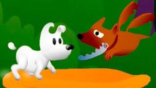 Приключение ПЕСИКА МИМПИ #3 Кид и Mimpi дали косточку собаке дракону и играли с слоненком обезьяной