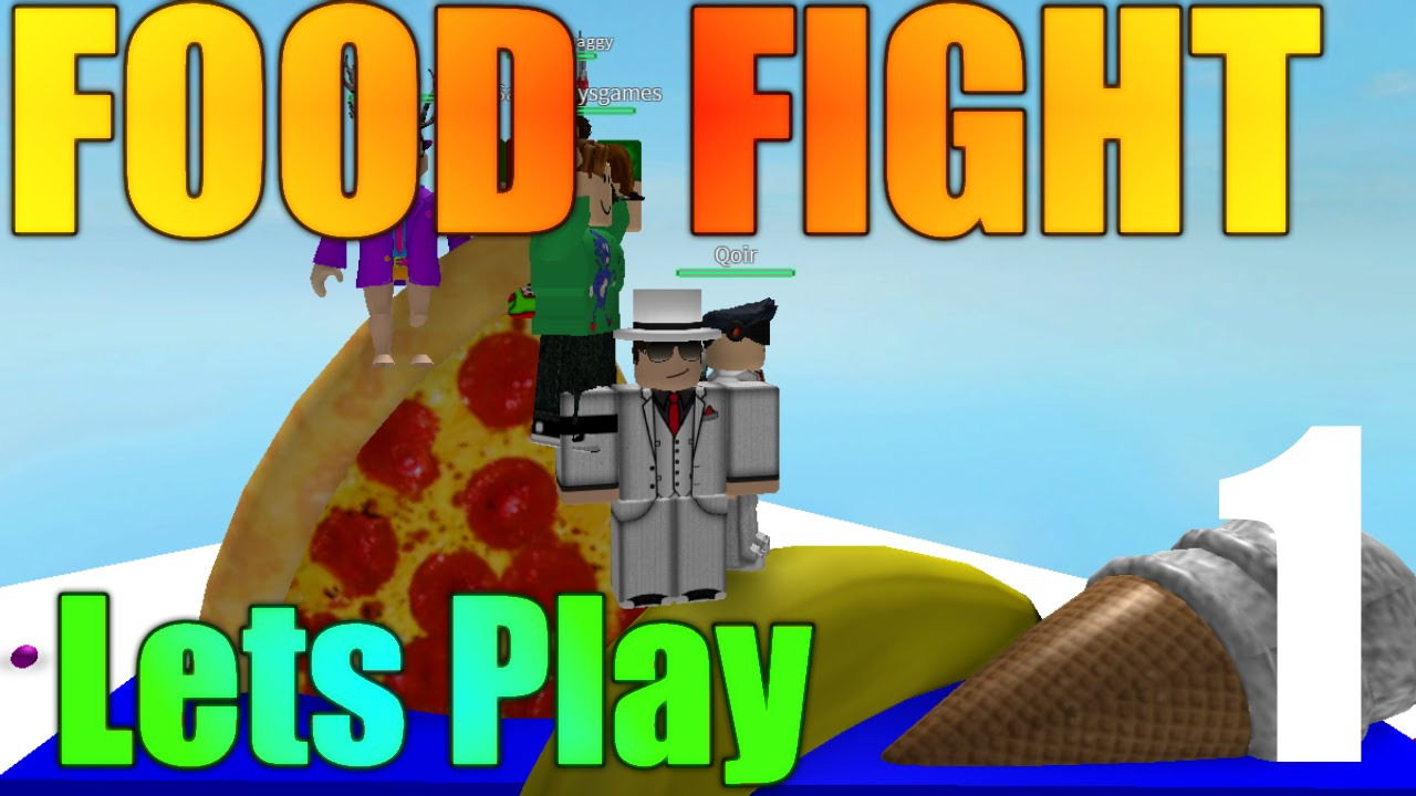 Roblox Food Fight Lets Play Ep 1 Killer Food Youtube