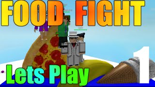[ROBLOX: Food Fight] - Lets Play Ep 1 - Killer Food
