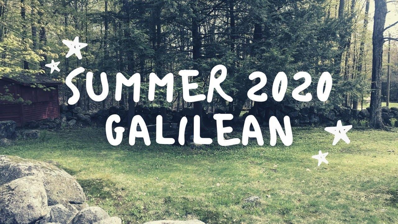 Summer 2020 Galilean