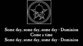 The Sisters of Mercy -  Dominion / Mother Russia (Lyrics)