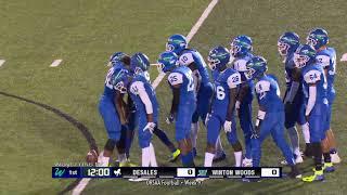 DeSales vs. Winton Woods High School Football, October 19, 2018