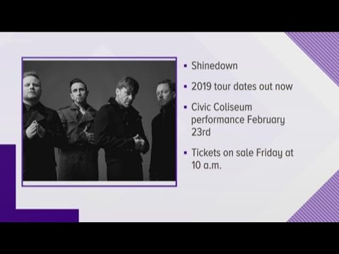 Shinedown Announces Tour Date In Knoxville