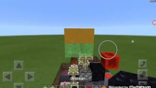 Minecraft pe 15.2 gerçeğimsi asansör yapımı!!!!