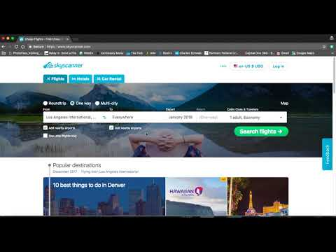 Skyscanner Tutorial: How To Find Cheap Affordable Flights in Just 10 Minutes