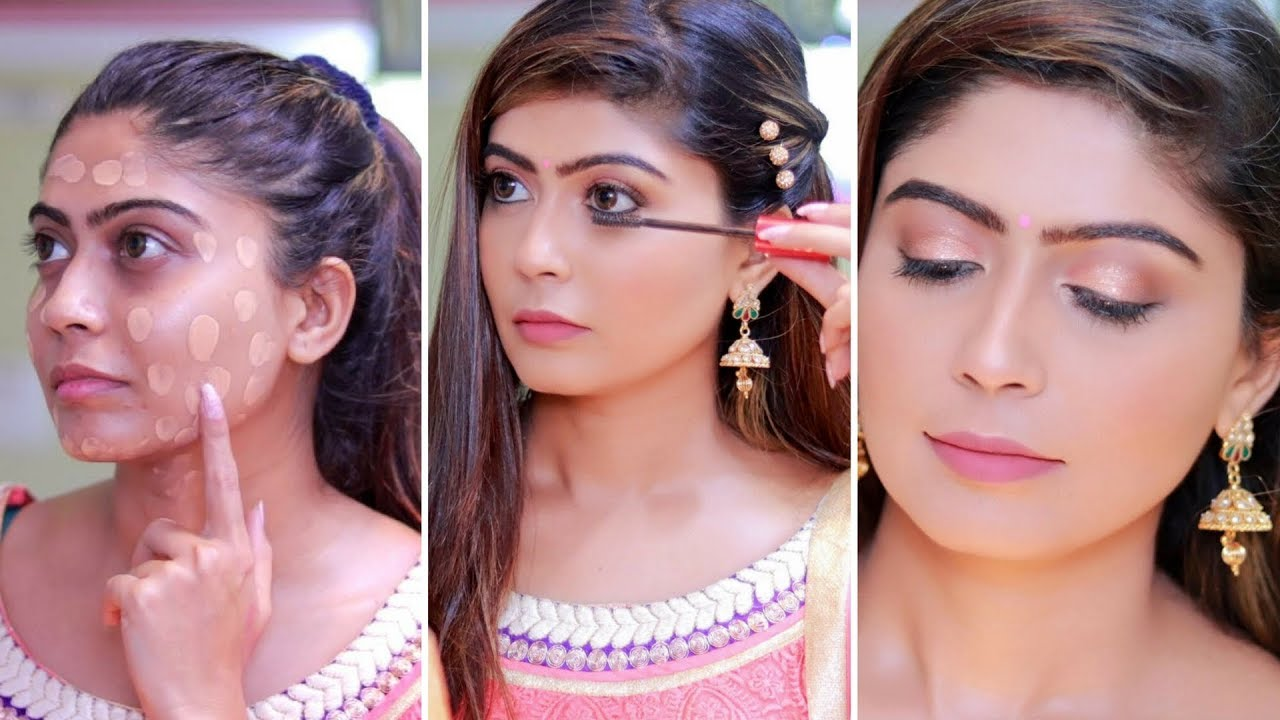 how to do makeup step by step for beginners in hindi | rinkal soni