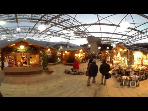 Aosta Mercatino di Natale 2016 video 360°