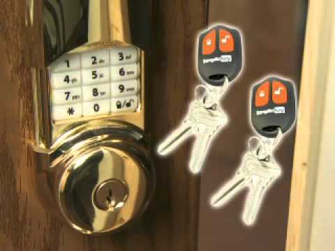how to install electronic door locks from simplicikey