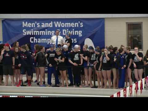GVSU Swimming and Diving GLIAC Championship Highlights