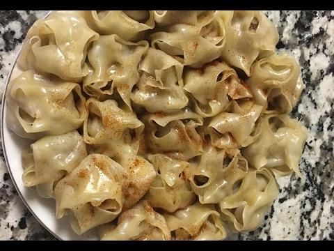 Таджикские Манты- рецепт на скорую руку. Таджикская кухня. Tajik mantu