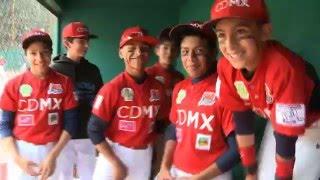 Los Bloopers de la Selección de CDMX de Béisbol (13 años)