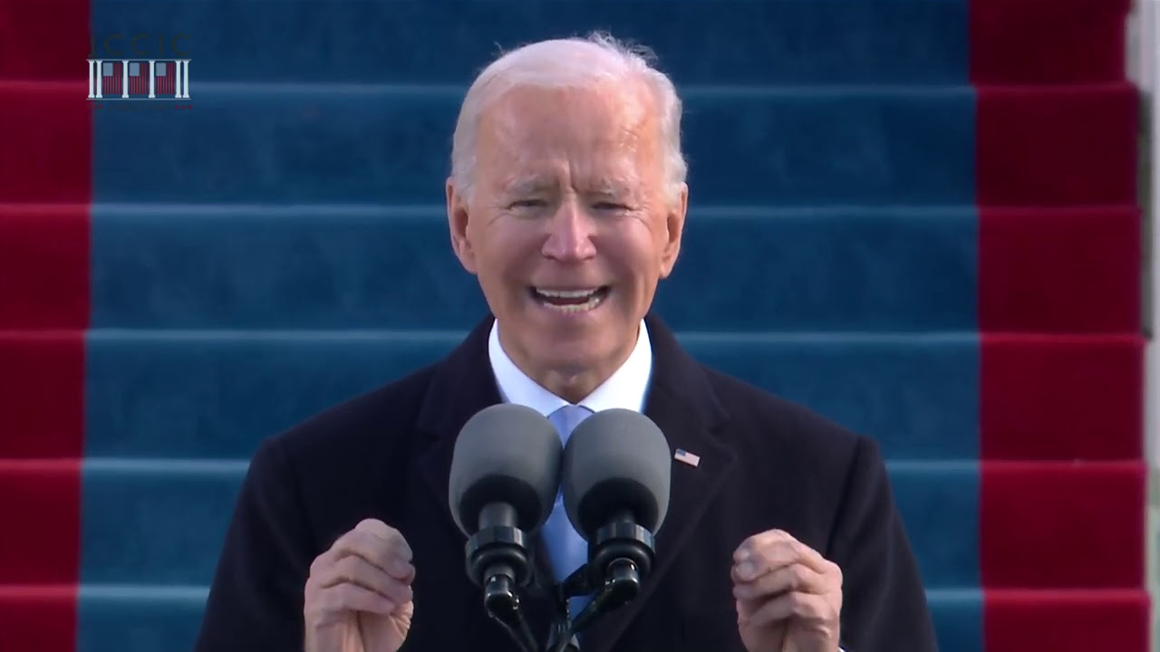 Watch Joe Biden's Inaugural Address: