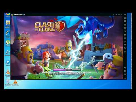 How To Zoom In And Zoom Out In Memu Emulator | Clash Of Clan
