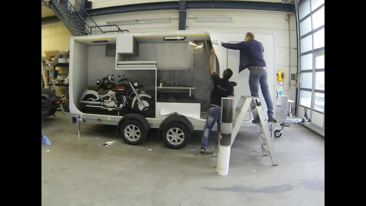 Full Size Van >> Sportcaravan met garage! Perfect voor full-size reclame ...