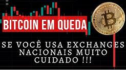 Bitcoin em Queda / Mais de 20% de reclamações a exchange brasileira são sobre phishing