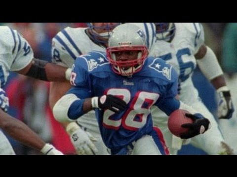Curtis Martin Patriots Highlights