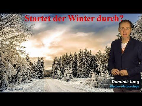 Regional Schneefall: Startet jetzt der Winter durch? (Mod.: Dominik Jung)