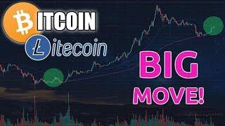 BITCOIN & LITECOIN MAKE BIG MOVE