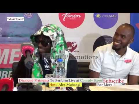 Diamond Platnumz Live In Uganda To Perform At Comedy Store