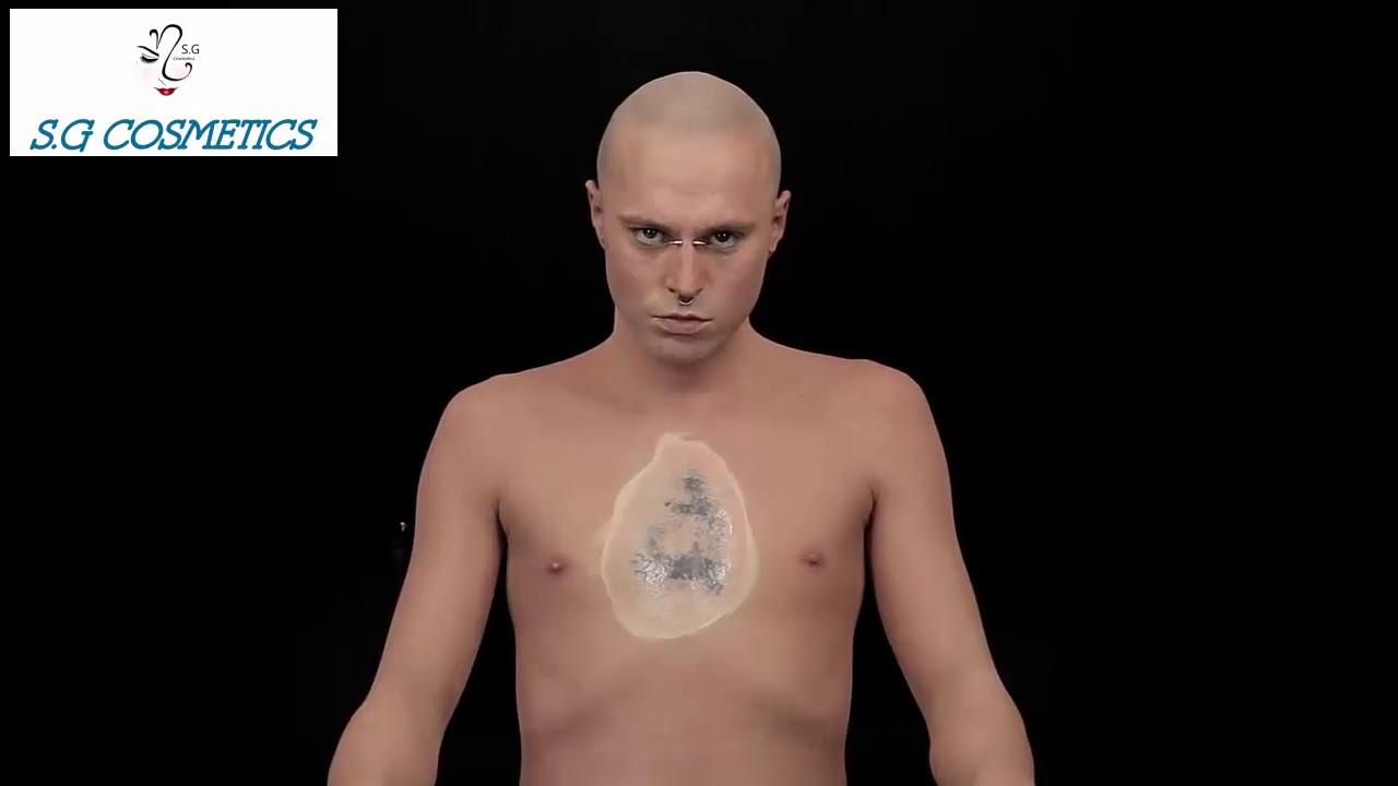 a8581150f79fc Zombie Boy Tattoo Er Up Dermablend Professional Makeup