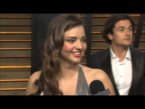 Orlando Bloom gives surprise to ex Miranda Kerr at Oscars after party kiss