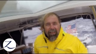 OUR WORST SAIL YET! Bad Weather COMPLETELY Changes our Plans [Sailing Zatara Ep 75]