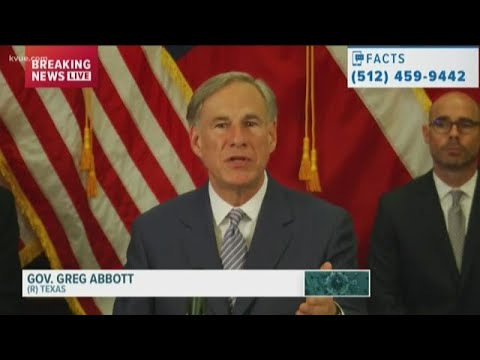 Timeline: Gov. Greg Abbott's plan to reopen Texas amid COVID-19 pandemic | KVUE