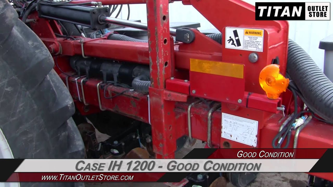 Case Ih 1200 Planter Operators manual