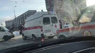 ДТП в Йошкар-Оле: столкнулись две маршрутки и такси