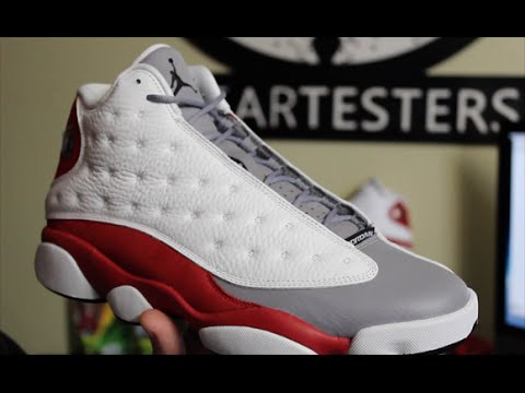 4d61b866f5d4 Air Jordan 13 Retro  Grey Toe  2014 - YouTube