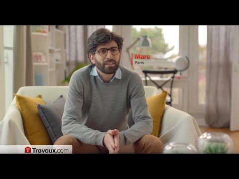 Travaux.com, Stéphane THEBAUT nouveau spot TV 22s (version 2)