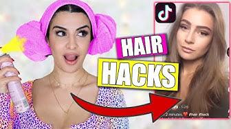 VIRALE TIK TOK HAIR HACKS 2020 💥 DAMIT HAB ICH NICHT GERECHNET 😳 KINDOFROSY