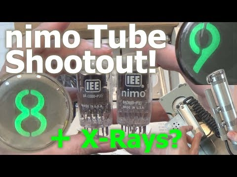 NIMO Tube Shootout!  + X-Rays??