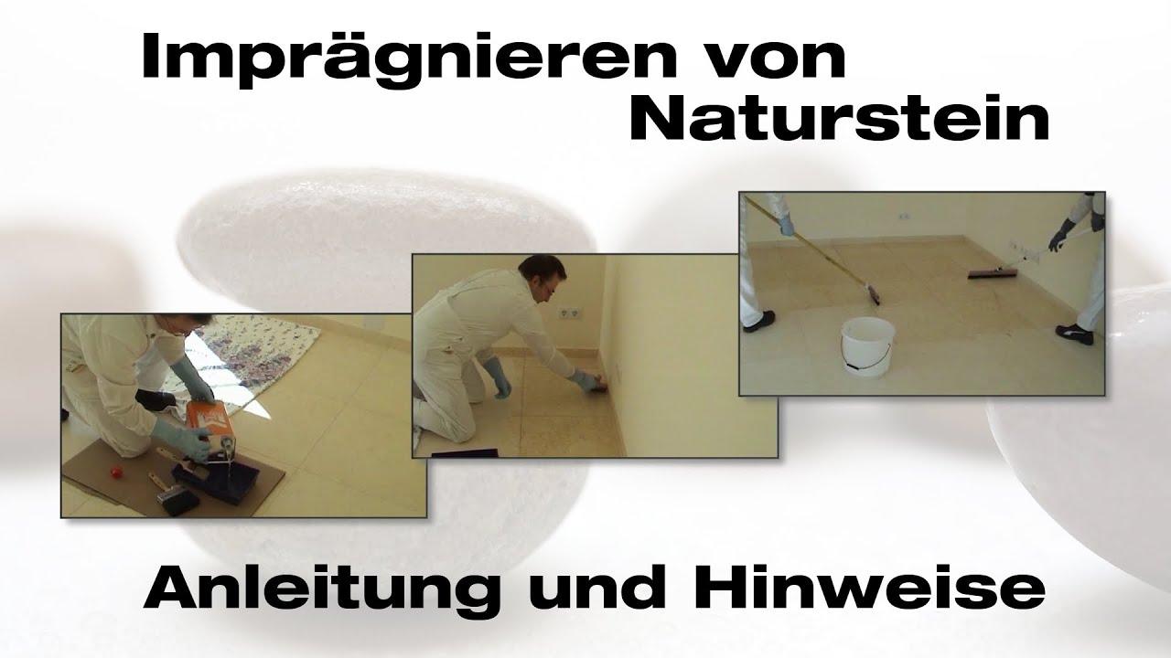 impraegnierung von naturstein schutz vor flecken leichtere pflege youtube. Black Bedroom Furniture Sets. Home Design Ideas