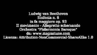Beethoven   Sinfonia n 8   II Allegretto scherzando   Philarmoni