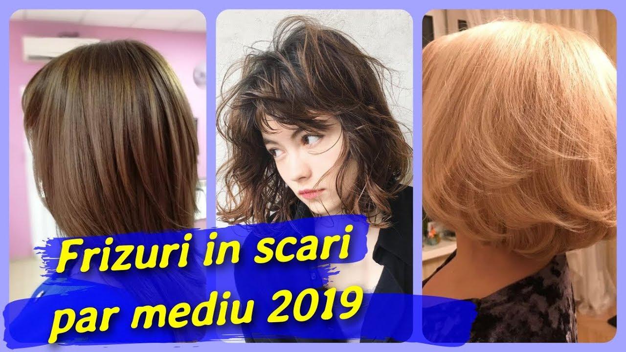 20 Modele Frizuri In Scari Par Mediu 2019 Youtube