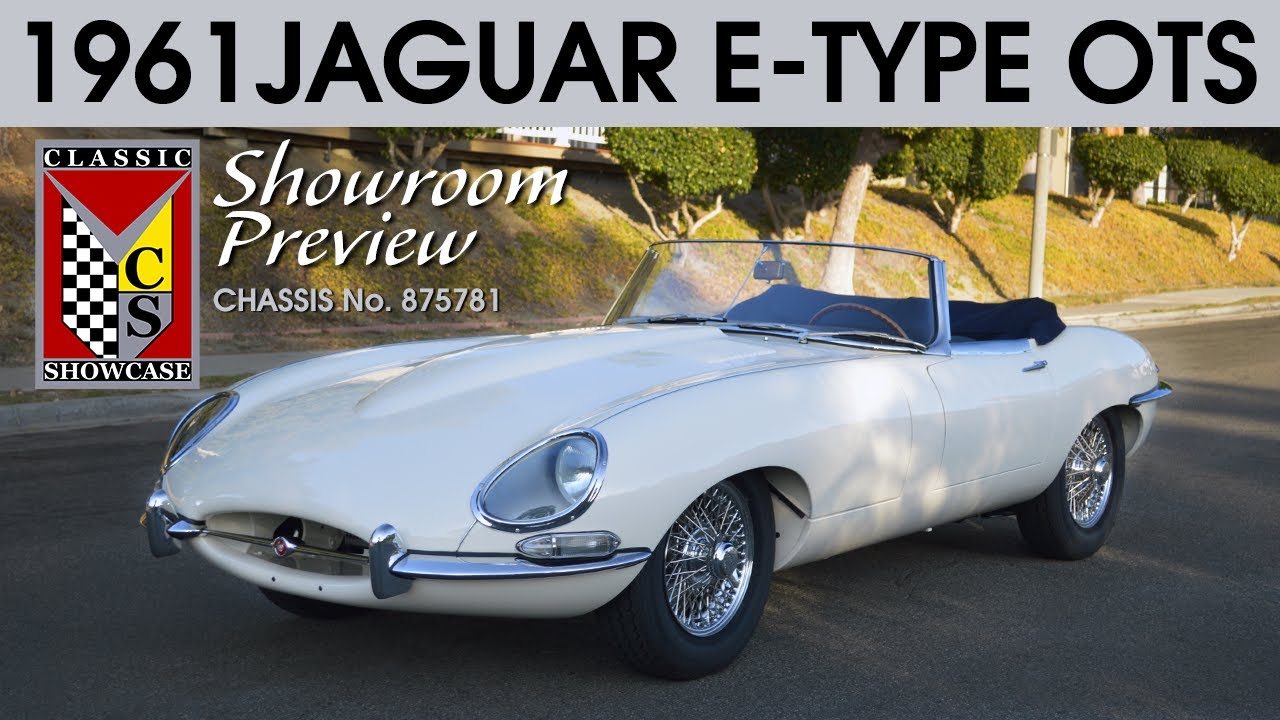 1961Jaguar E-Type Roadster - Preview & Walk-around Tour