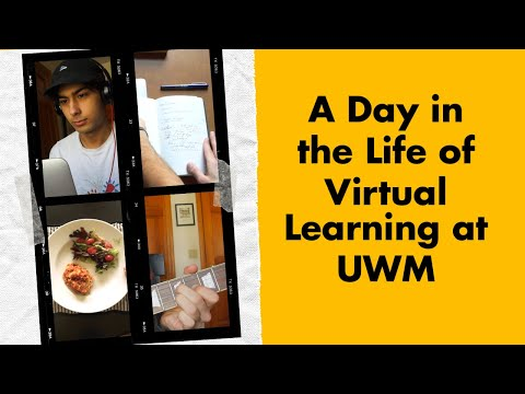 A Day In The Life Of Virtual Learning: UWM Film And Russian Major