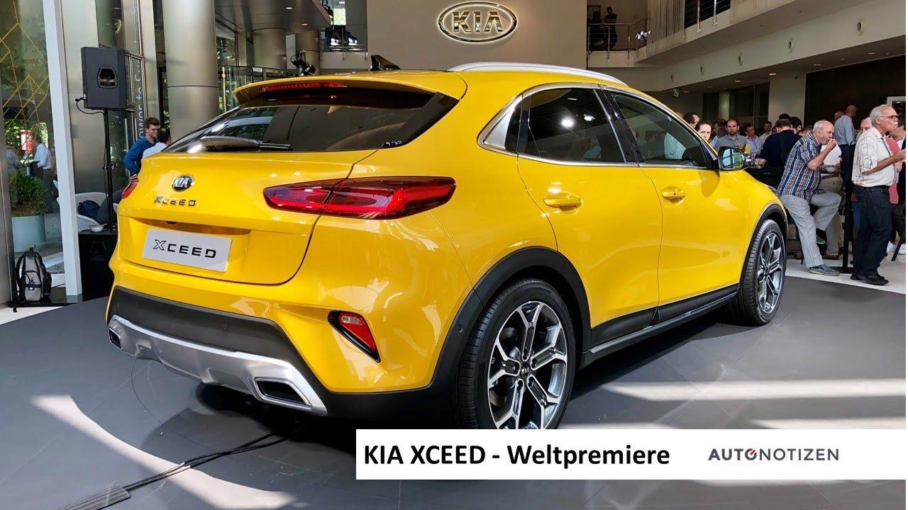 Kia XCeed 2019: Weltpremiere Mit Vorstellung Des Neuen SUV