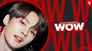 STRAY KIDS Lee Know, Hyunjin and Felix - WOW | Line Distributionwidth=