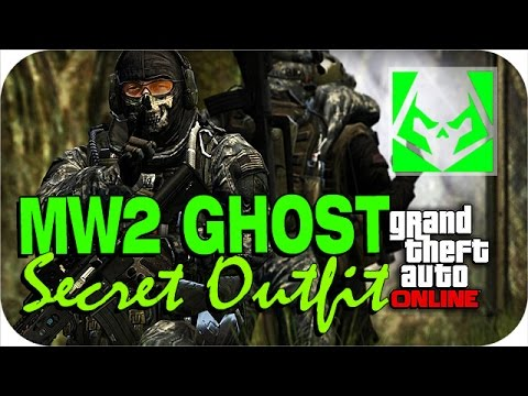 how to get ghost outfit gta