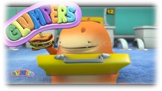 Glumpers, funny cartoon series - Airport, Travelling with humor videos,