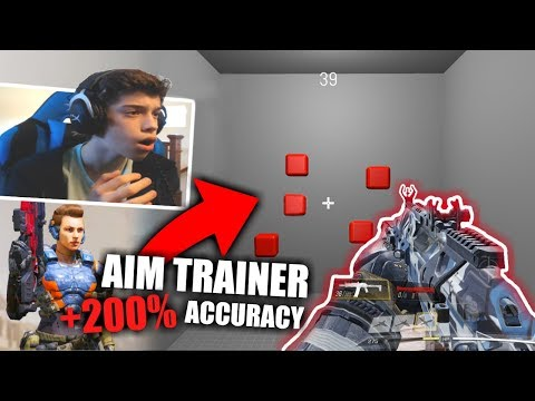 How To Get GODLIKE Aim In Call Of Duty Mobile... (Best App)