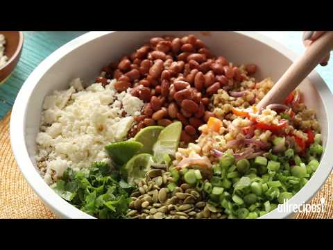 How to Make Cauliflower Rice Fajita Bowls | Vegetarian Recipes | AllRecipes