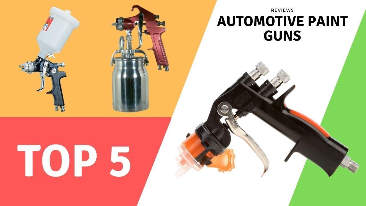 Best Automotive Paint Guns Reviews 2019 - YouTube