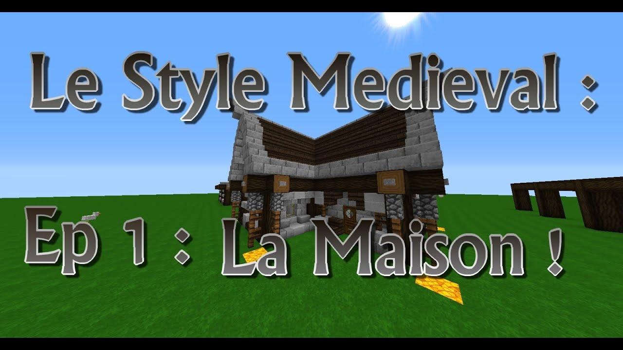 Tuto minecraft architecture le style m di val ep 1 la maison yo - Maison style minecraft ...