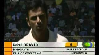 2004 India vs Australia 1st TEST - HIGHLIGHTS