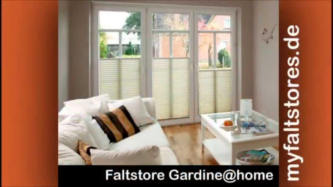 plissee faltstore fensterrollo die jalousie auf ma youtube. Black Bedroom Furniture Sets. Home Design Ideas