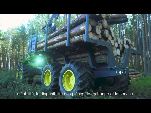 John Deere Forestry - client Drewmix en Pologne