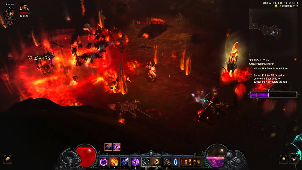 diablo 3 how to cancel a greater rift